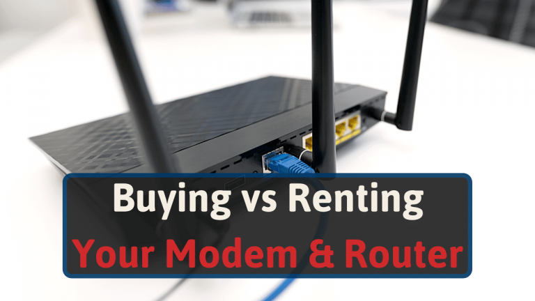 Buying vs Renting Your Modem & Router
