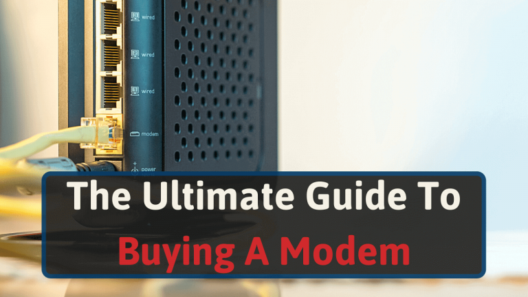 Modem Buying Guide